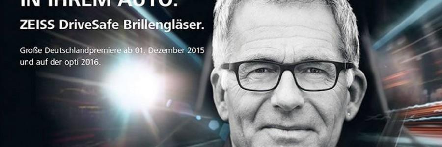 Neu: ZEISS DriveSafe Brillengläser bei Optik Lauth